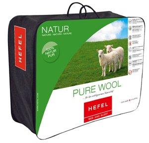 Draagtas van een Hefel Pure Wool dekbed