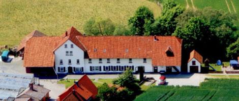 Luchtfoto van het atelier van Kleiner in Sebexen