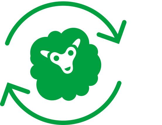 Icoon voor duurzaamheid