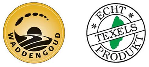 De waddengoud en Echt Texels product keurmerken