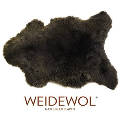 Weidewol lamsvacht bruin #1