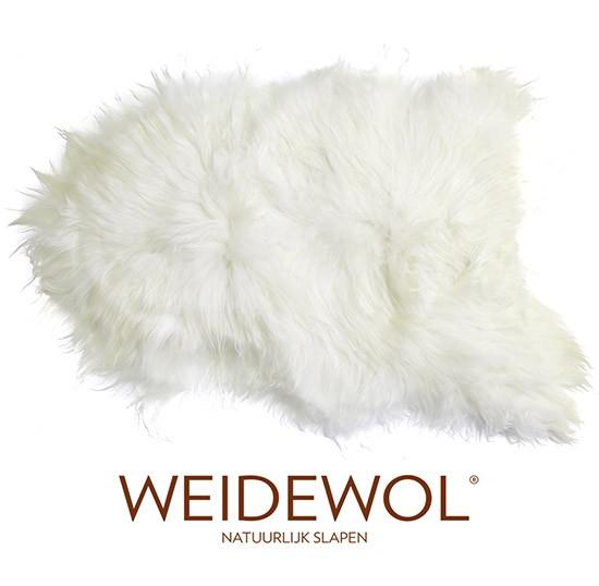 Afbeeldingen van de Weidewol IJslandse lamsvacht wit