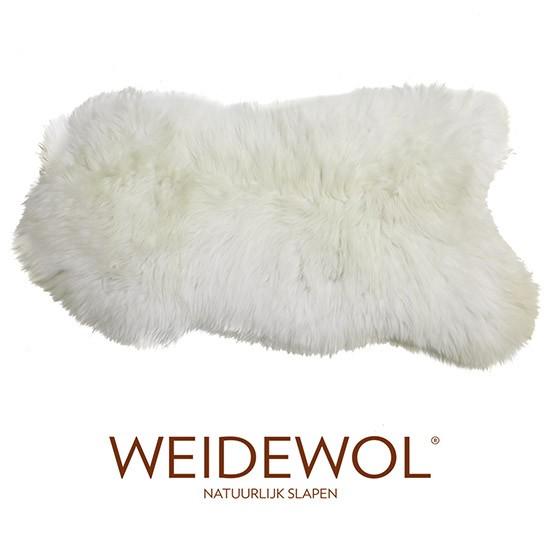 Afbeeldingen van de Weidewol lamsvacht wit