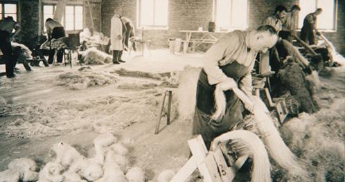 Traumina touwslagerij in de jaren 50