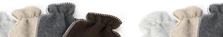 Banner voor wollen kruikenzakken